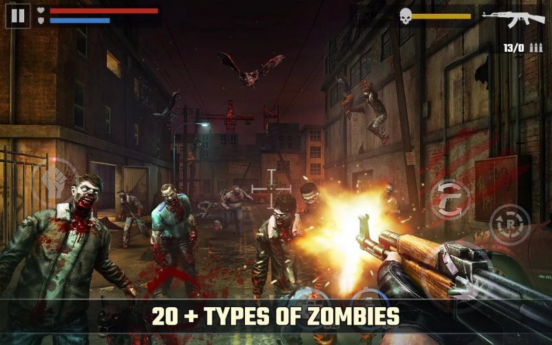 Dead Target: Zombie-12 Best Zombie Survival Games For IOS And Android