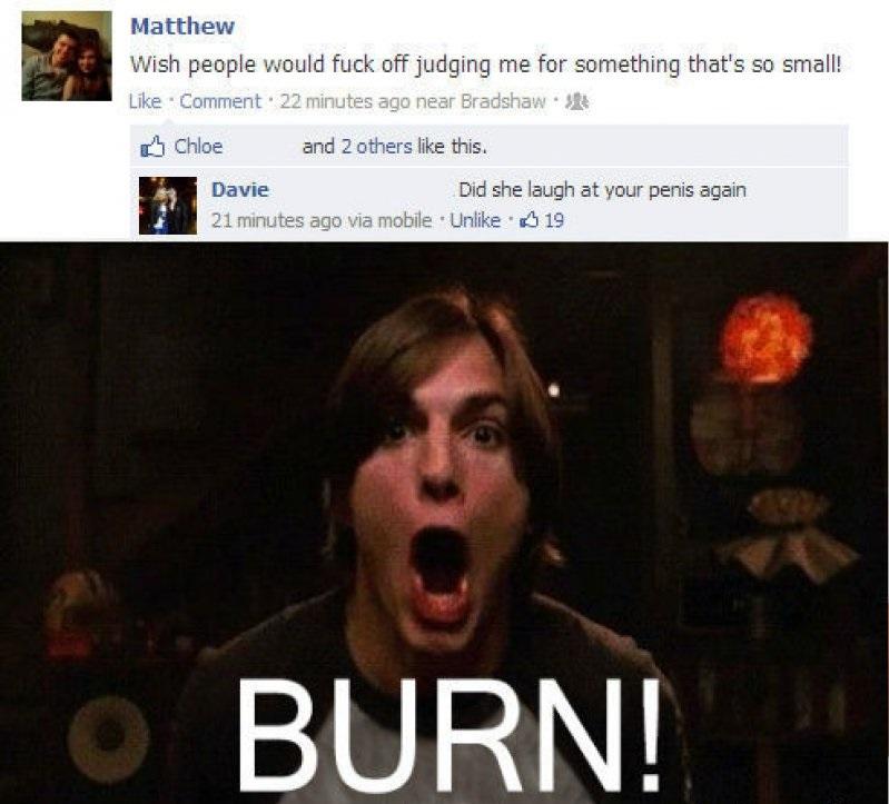 Opinion, Kelso burn meme opinion