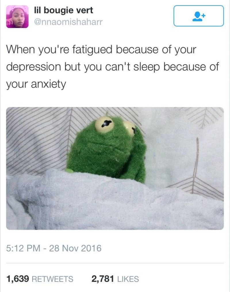 Depression And Anxiety Together-12 Depression Memes That Are Actually Funny