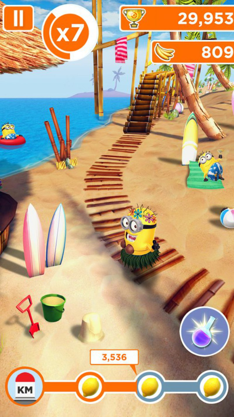 Despicable Me: Minion Rush-12 Best Jumping Games For IOS And Android