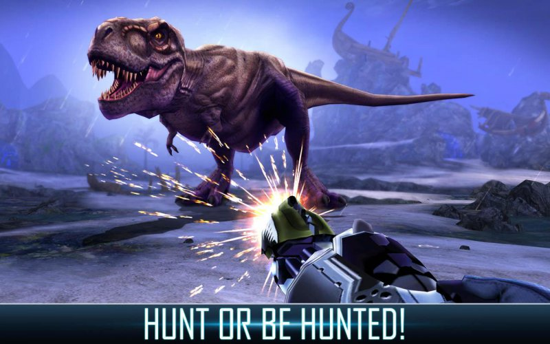 Dino Hunter - Deadly Shores-15 Top Hunting Games For Mobile