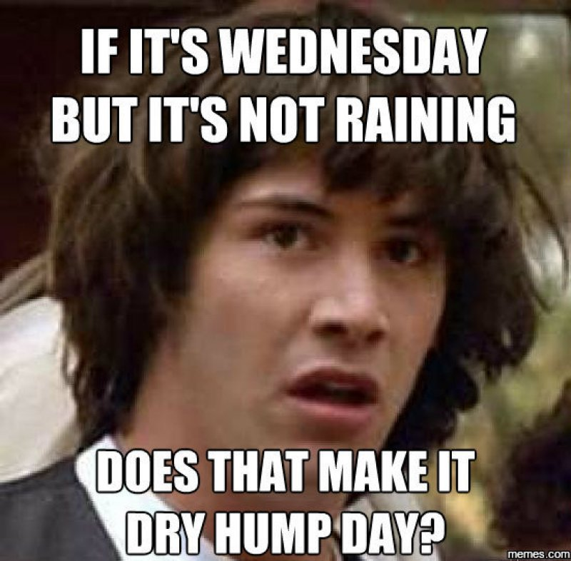 Does That Make It Dry Humping 0909794171499345411 12 funny hump day memes that will make your whole week