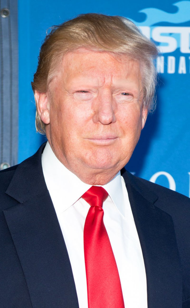 Donald Trump-15 Celebrities Without Eyebrows You Never Seen Before