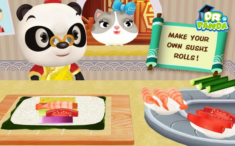 Dr. Panda Restaurant Asia-12 Best Restaurant Games For IOS And Android