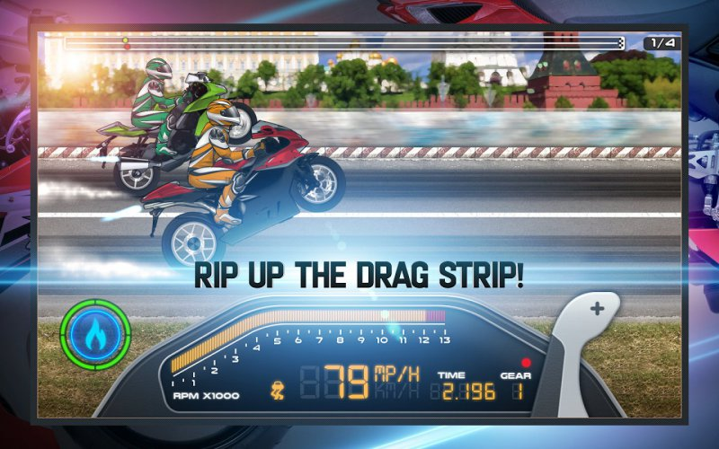 Drag Racing: Bike Edition-15 Best Bike Riding Games For Your Mobile