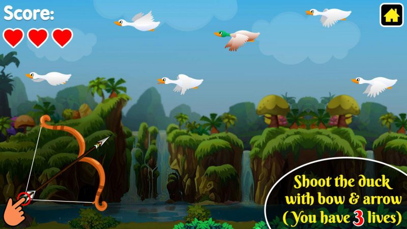 Duck Hunting-15 Top Hunting Games For Mobile