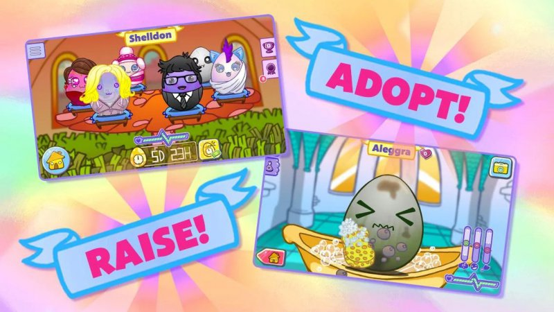Egg Baby-12 Best Virtual Pet Games For Mobile