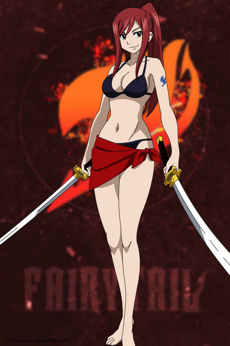 Erza Scarlet-12 Best Anime Pictures You Can Use As Profile Photos