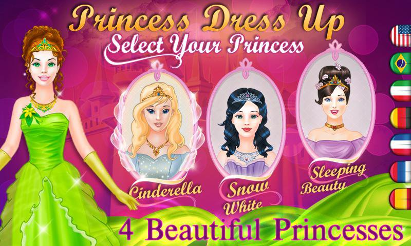 Fairy Tale Princess Dress-up-15 Best Dress-up Games For Girls On Mobile