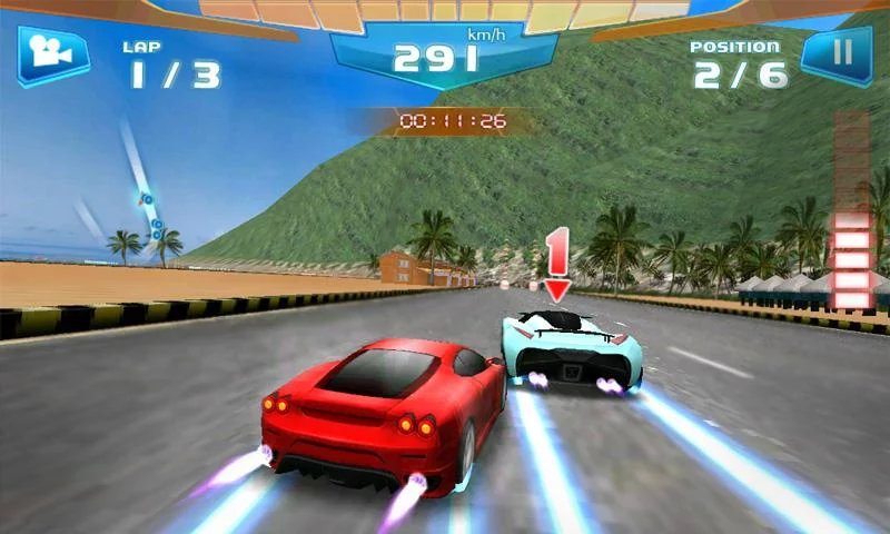 Fast Racing 3D-12 Best Car Racing Games For Mobile