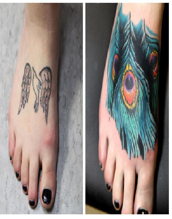 Bad Bird-15 Best Tattoo Cover Ups Ever