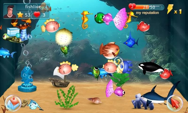 Fish Live-12 Best Virtual Pet Games For Mobile