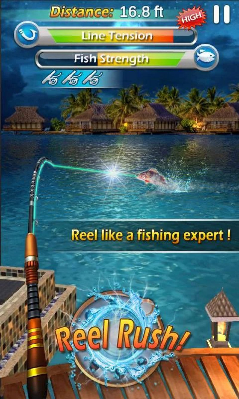 Fishing Mania 3D-12 Top Fishing Games For Mobile