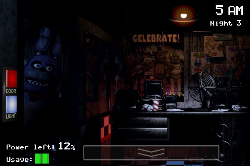 Five Nights At Freddy's-12 Best Horror Games For Android And IOS