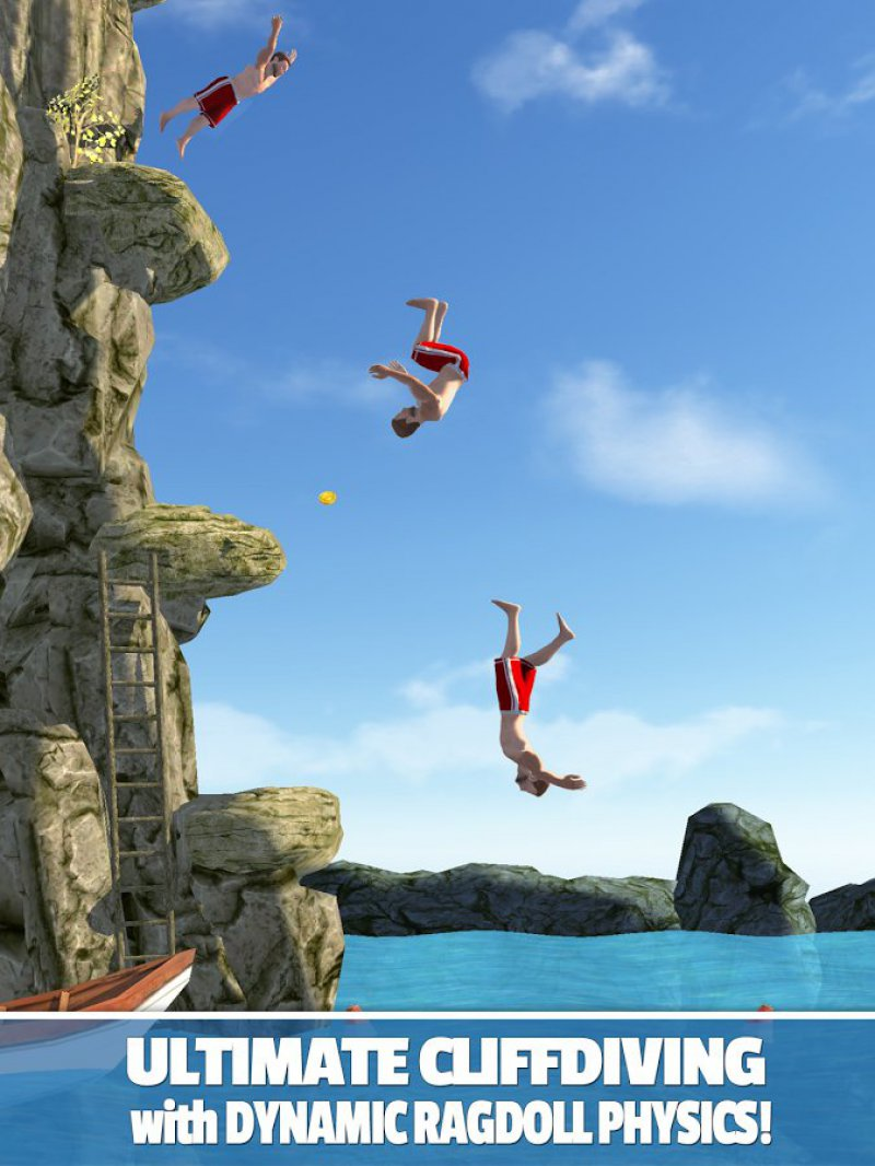 Flip Diving 2-12 Best Physics-Based Games For IOS And Android