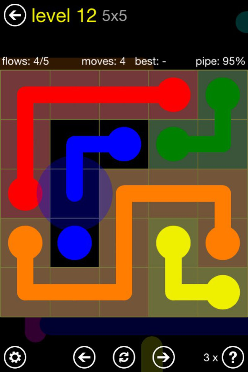 Flow Free-12 Best Puzzle Games For Android And IOS