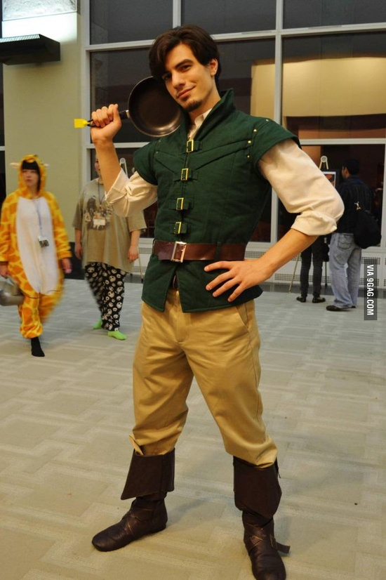 Flynn- Rider costume-15 Best Disney Cosplays You'll Ever See