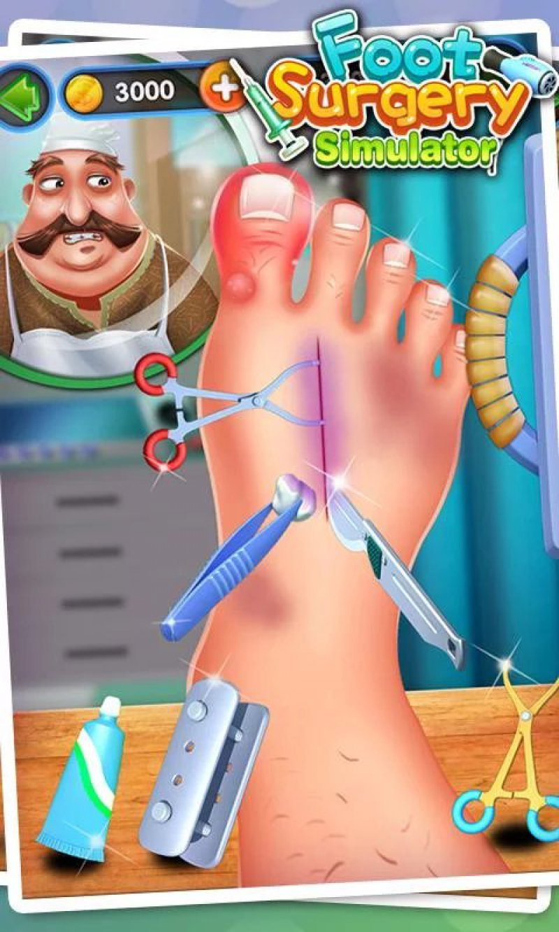 Foot Surgery Simulator-15 Best Surgery Games For IOS And Android