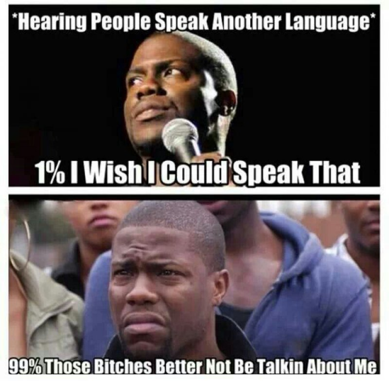 Foreign Language Problems-12 Funny Kevin Hart Memes That Are Sure To Make You Laugh