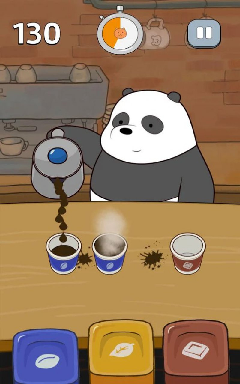 Free Fur All - We Bare Bears-12 Best Panda Games For IOS And Android