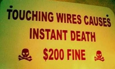 Fine to death-15 Hilarious Signboards That Will Make You Laugh Out Loud