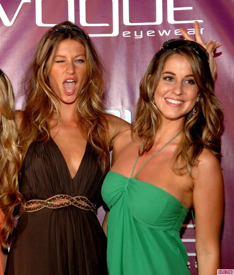 Gisele Bundchen-12 Celebrities You Didn't Know Had A Twin Sibling