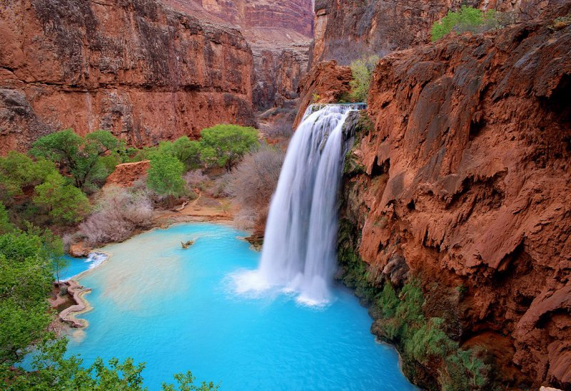 Havasupai Waterfalls, Grand Canyon-13 Awesome Pictures That Will Make Your Day