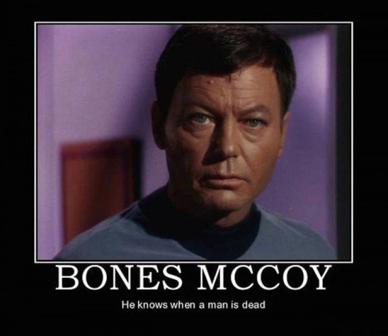 He's Dead, Jim! -12 Funny Star Trek Memes That Are Make Your Day