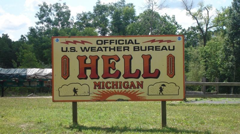 Hell, Michigan-12 Funniest US Town Names