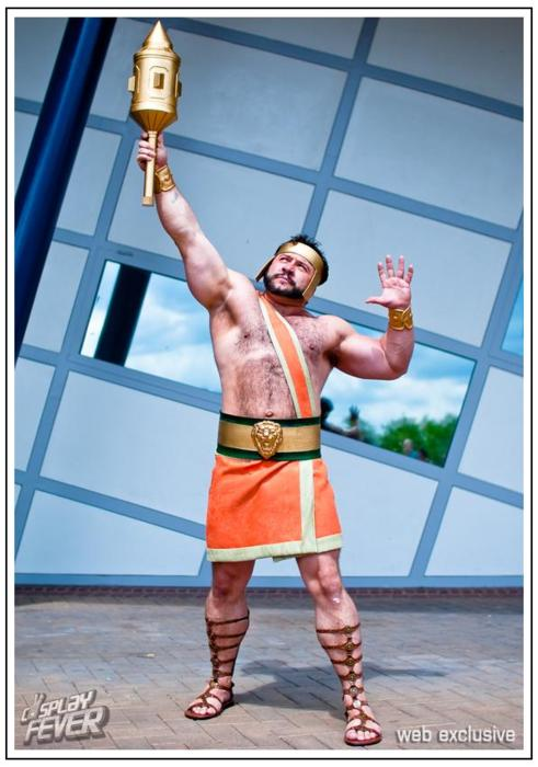 Hercules cosplay-15 Best Disney Cosplays You'll Ever See