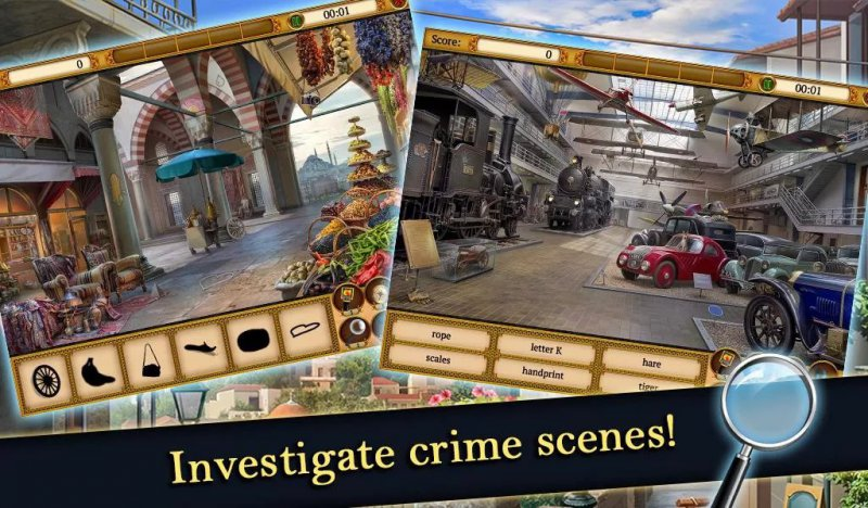 Hidden Object Mystery Society-12 Best Crime Investigation Games For Mobile