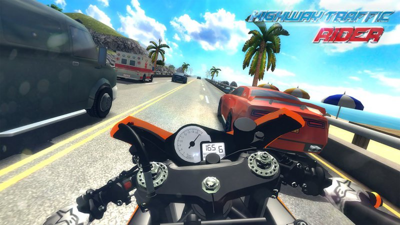 Highway Traffic Rider-15 Best Bike Riding Games For Your Mobile