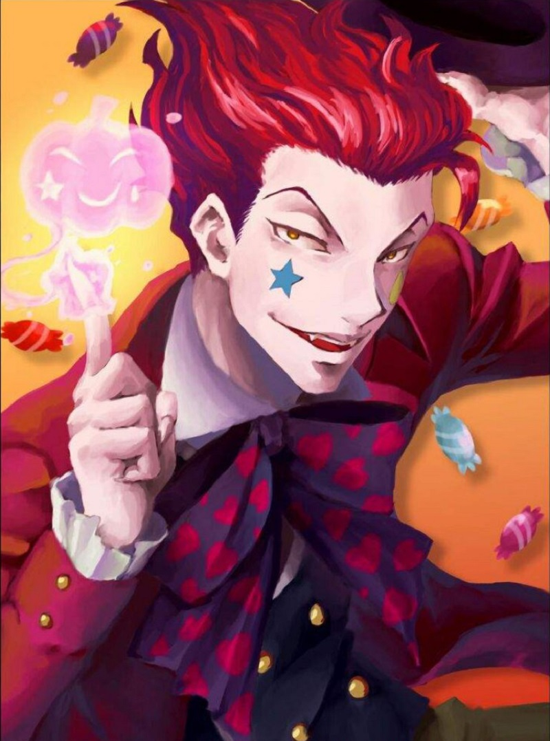 Hisoka Morow-12 Best Anime Pictures You Can Use As Profile Photos