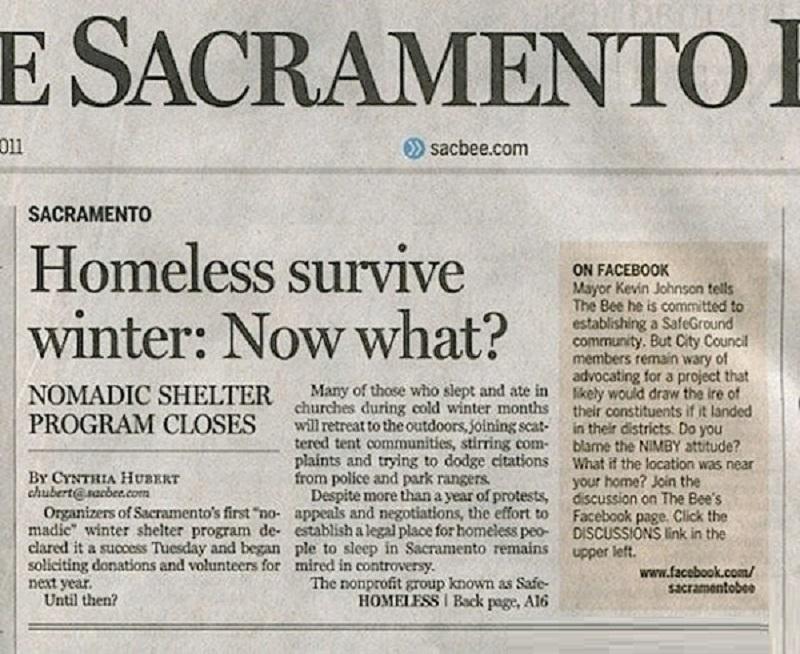 Homeless Survive Winter: Now What?-12 Funniest Newspaper Headlines Ever Written