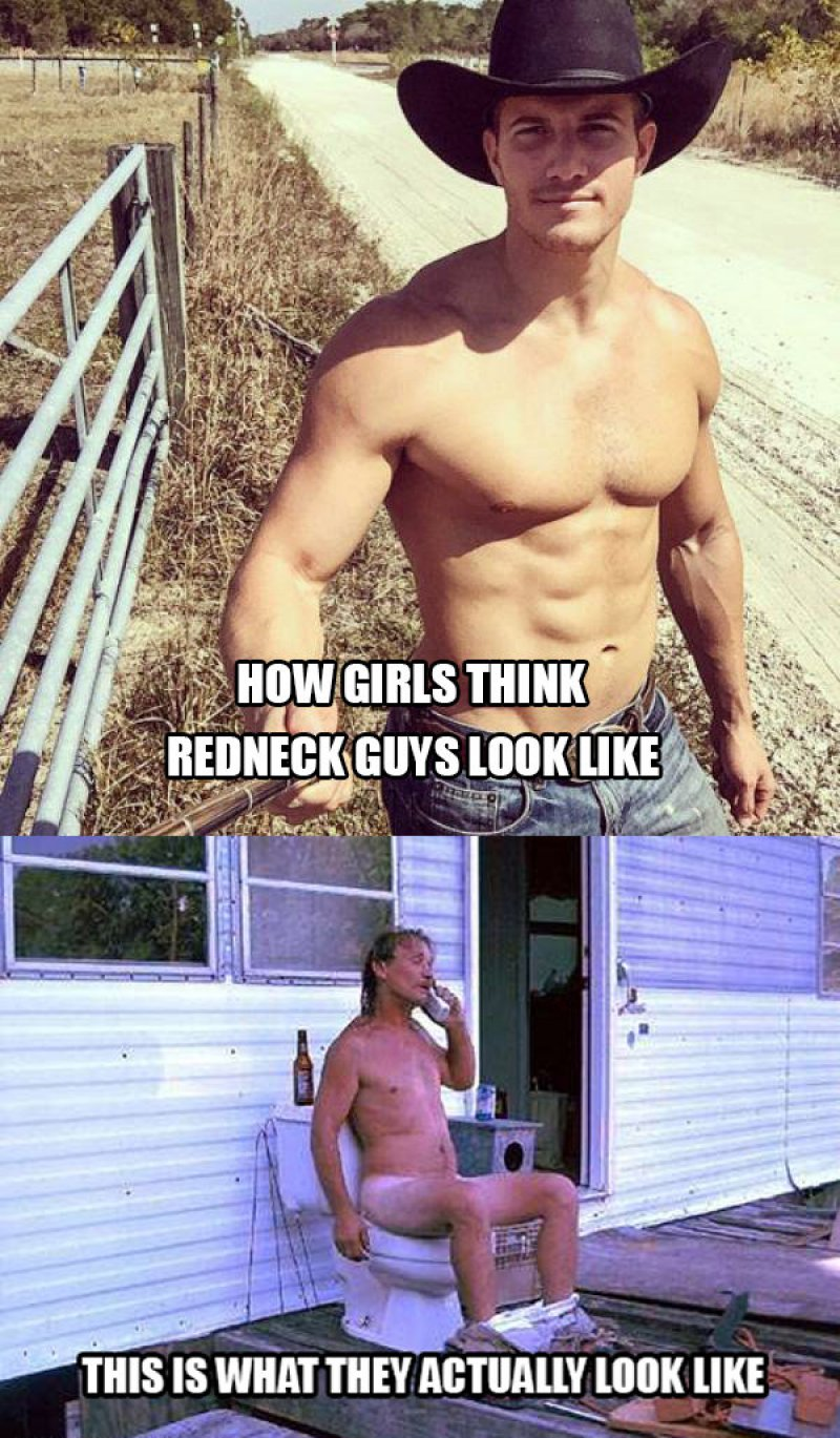 How Redneck Guys Actually Look Like!-12 Funny Redneck Memes That Will Make You Lol