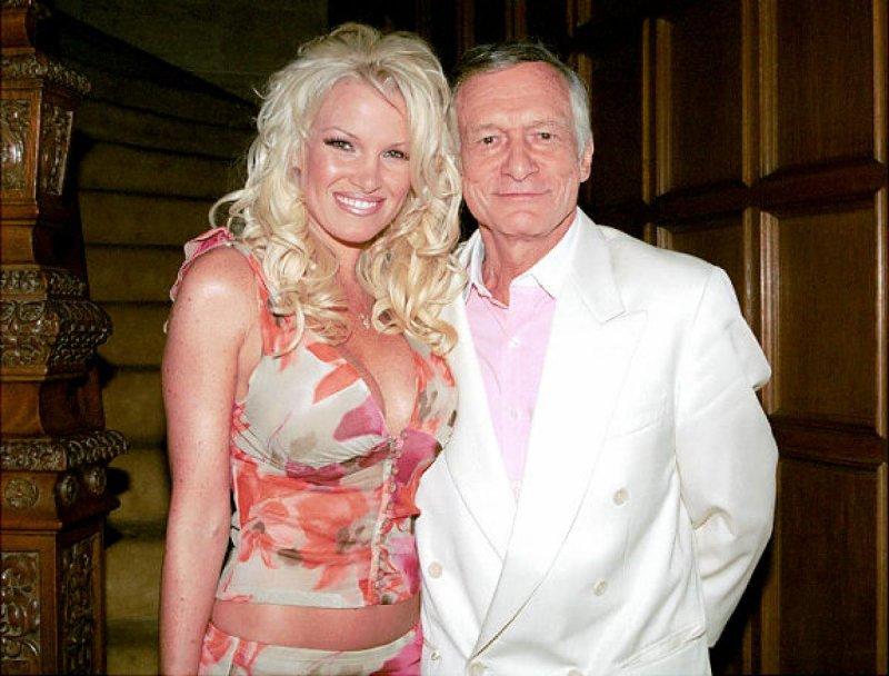 Hugh Hefner And Tina Marie Jordan-12 Famous Hugh Hefner Hookups Ever