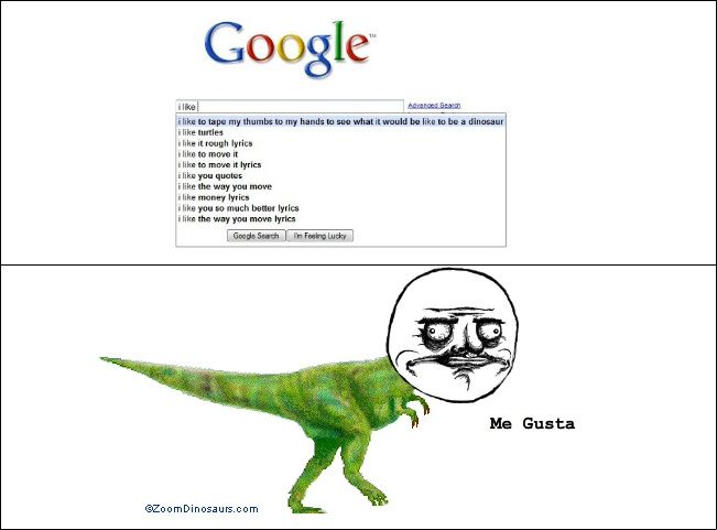 I Like To Tape My Thumbs To My Hands And See What It Is Like To Be A Dinosaur -12 Funny Things People Google