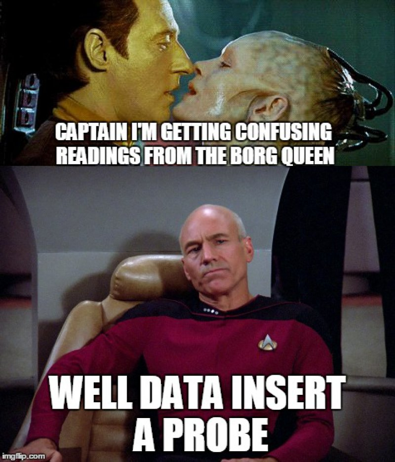 Insert A Probe!-12 Funny Star Trek Memes That Are Make Your Day