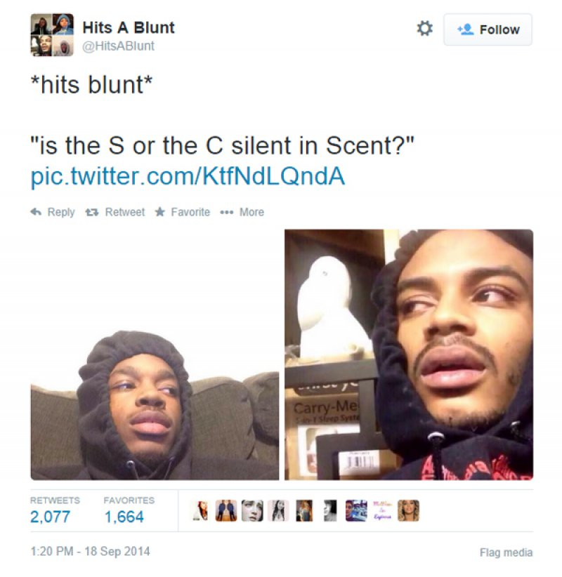 Is The S Or C Silent In Scent?-12 Funny Hits Blunt Memes That Will Send You In The Thinking Mode