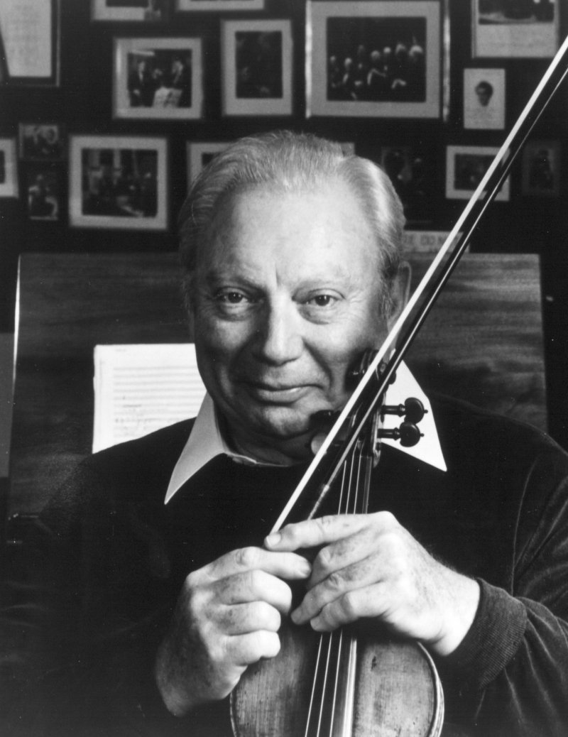 Isaac Stern-12 Famous Violinists Around The World