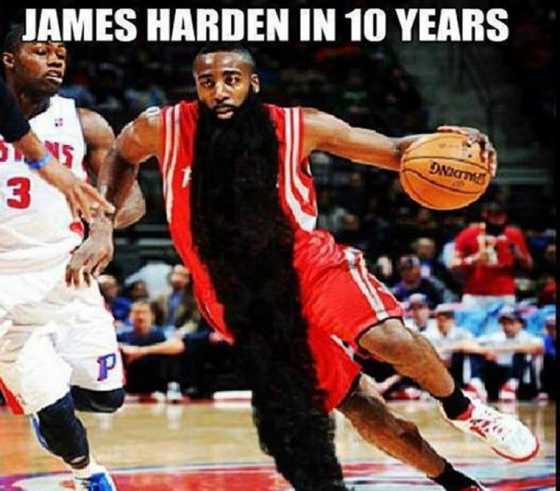 James Harden In Ten Years!-12 Funny NBA Memes That Will Make Your Day