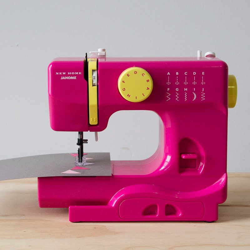 Janome Fastlane Fuschia Portable-12 Best Kids Sewing Machines You Can Buy Online