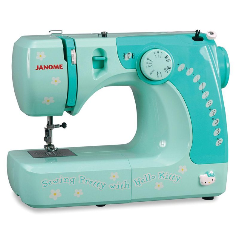 Janome Hello Kitty 11706 Kids Sewing Machine-12 Best Kids Sewing Machines You Can Buy Online