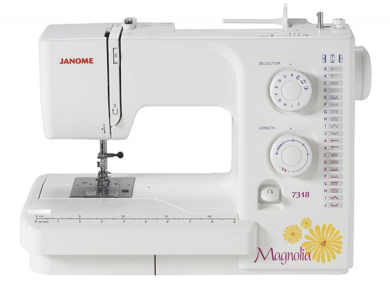Janome Magnolia 7318-12 Best Kids Sewing Machines You Can Buy Online