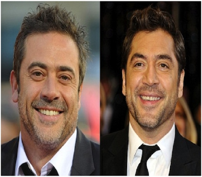Jeffrey Dean Morgan & Javier Bardem-15 Surprising Celebrity Lookalikes That You Haven't Noticed
