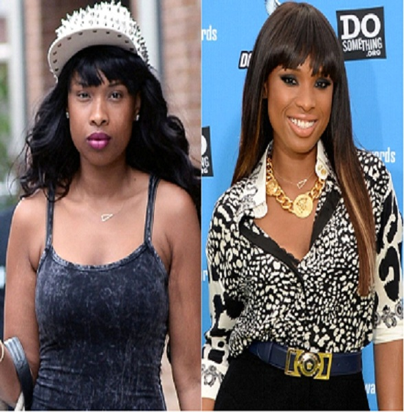 Jennifer Hudson-15 Celebrities With And Without Makeup