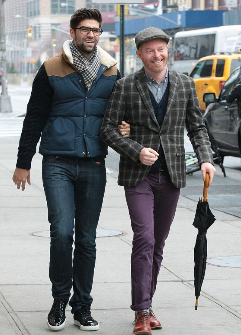 Jesse Tyler Ferguson And Justin Mikita-12 Gay Celebrities Who Married Same Sex Partners