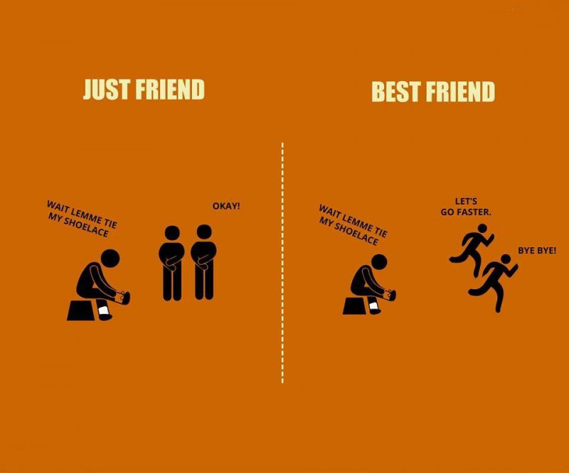 Just Friend Vs. Best Friend!-12 Best Friend Memes That Will Make You Say So Us