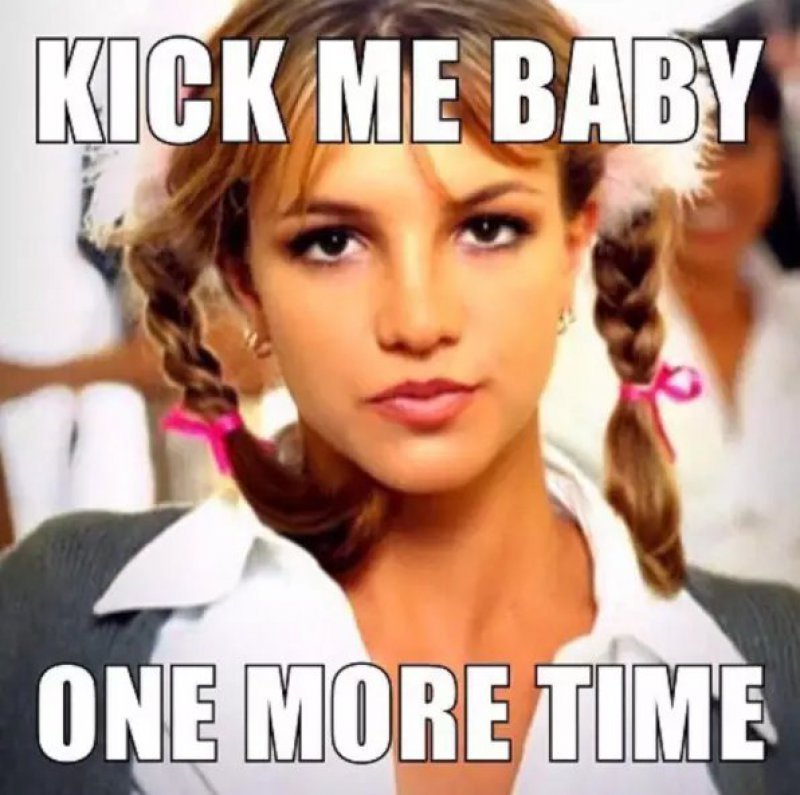 Kick Me Baby One More Time!-12 Hilarious Pregnancy Memes That Will Make Your Day