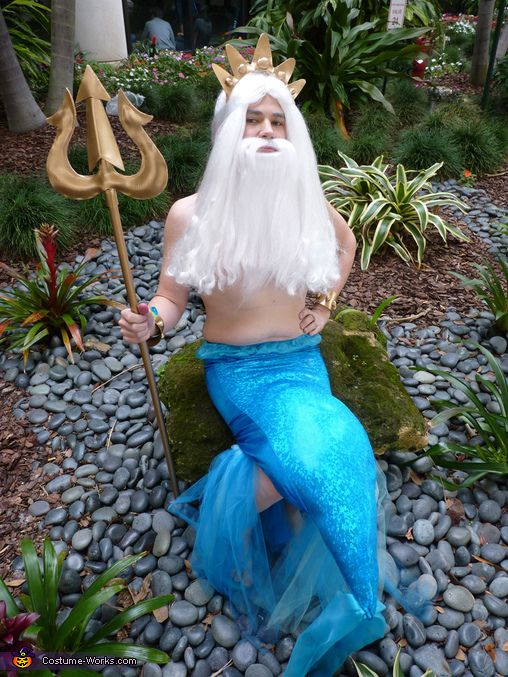 King Triton-15 Best Disney Cosplays You'll Ever See